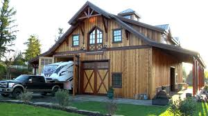 barn pros timber framed denali 60 gable barn youtube