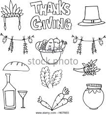 thanksgiving doodle draw stock photos thanksgiving