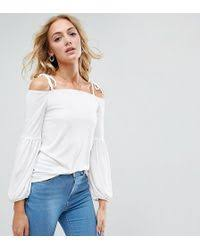 asos peitte soft gathered pretty cami top in orange lyst