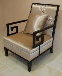 Armchair Sofa Chinese Design Wooden Hotel Lobby Furniture Accent Armchair Sofa