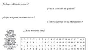 daily routine u2013 printable spanish