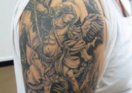 25 marvelous guardian angel tattoos for men creativefan