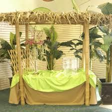wedding backdrop rentals utah decor luau tiki hut rentals salt lake city ut where to rent decor