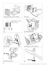 lawn mower 8211 0224 08 stiga multiclip 48 51se pro48 pro51s