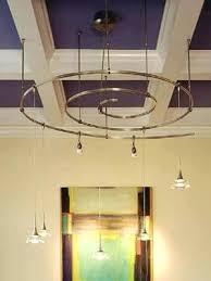 Kitchen Rail Lighting Monorail Lighting Pendants 4 Monorail Pendants In A Traditional