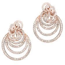 gipsy earrings 18ct gold diamond earrings jewellery from of