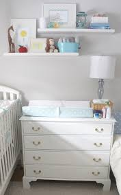 Changing Table Shelf The Nursery Reveal Urbane