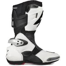 white motocross boots spyke totem 2 0 motorcycle boots sports race bike vented track