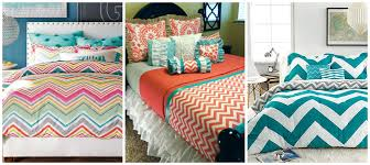 Turquoise Chevron Bedding Decorating With Chevron Pattern How Ornament My Eden