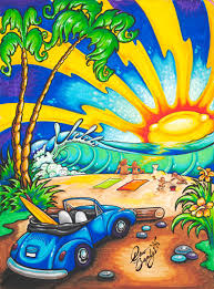 surf car clipart drew brophy surf lifestyle art