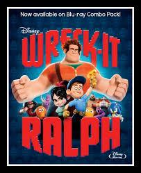 wreck ralph blu ray dvd combo pack review disneyozevent