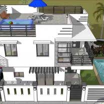 house plans with rooftop decks home architecture small and simple but beautiful house with roof