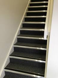 Laminate Flooring On Stairs Nosing Metal Stair Nosing On Carpet American Safety Metal Stair Nosing