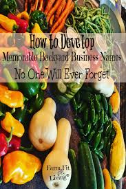 develop memorable backyard business names no customer will forget