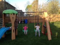 durable and safety little tikes swing set home decorations ideas