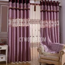 Purple Room Darkening Curtains Room Darkening Bedroom Decorative Plum Purple Curtains