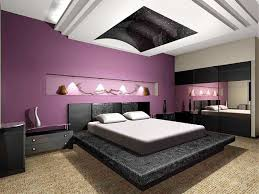cheap diy teen bedroom ideas with purple color design in