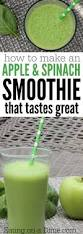 Gray Green Apple Spinach Green Smoothie Recipe Eating On A Dime