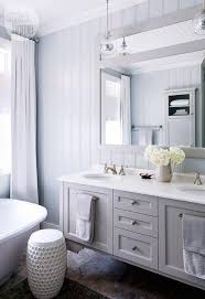 gray paneled bathrooms contemporary bathroom style at home