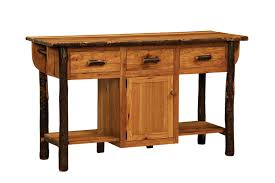 kitchen island furniture solid hickory wood american made furniture kitchen island