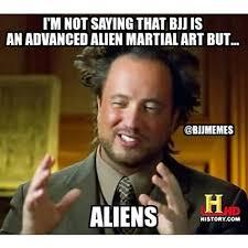 Meme Generator Alien - martial arts humor but aliens lol bjj bjjmeme bjjmemes