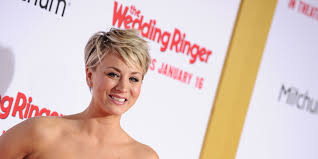 kaley cuoco jokes about feminism controversy at people u0027s choice