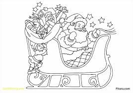 unique santa and rudolph coloring pages freecoloringpages website
