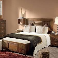 chambre coloniale chevet haut de gamme en bois style colonial pour la chambre