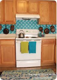 cross hatch vinyl tile backsplash positively splendid crafts