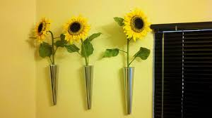 Ikea Flower Vase Turn An Ikea Candlestick Into A Wall Mounted Vase 8 Steps