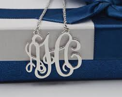 monogram pendants monogram pendants etsy