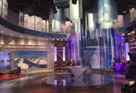 Nbc Sports Desk Triangular Elements Abound In Nbc U0027s Sochi Look Newscaststudio
