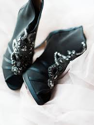 wedding shoes black black wedding shoes bridal wear trendy magazine