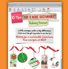 sustainable christmas card for wsp creative graphic design and