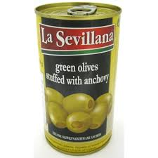 Indian Food Olives From Spain Manzanilla Olives 730g Green Unpitted Buy