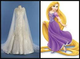 disney rapunzel wedding dress 8 disney princess weddings gowns your inner child would