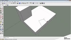 sketchup tutorial lines u0026 planes push u0026 pull selection groups