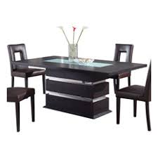 Contemporary Dining Room Tables Houzz - Black and white contemporary dining table