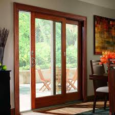 Patio Doors Wooden Patio Replacing A Sliding Patio Door Doors Wooden