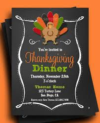 thanksgiving open house invitations happy thanksgiving