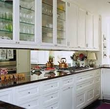 kitchen mirror backsplash mirror backsplash galley kitchen design ideas 16 gorgeous