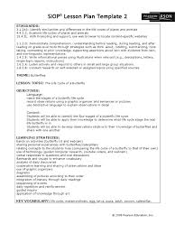 butterfly siop pupa lesson plan model examples 15092 elipalteco