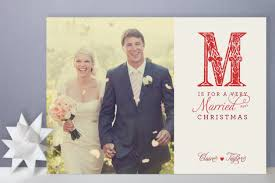 newly wed christmas card a events
