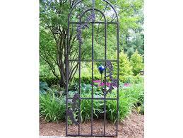 fresh metal garden arbor trellis 20505