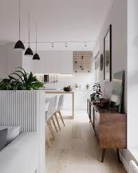 Modern Minimalist Kitchen Interior Design Interior Design Of Apartment In Minsk At The Joint Of Scandinavian