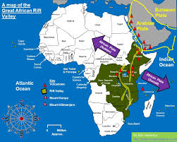 africa map great rift valley africa s rift valley plate tectonics continental margin