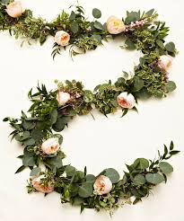 cheap garlands for weddings best 25 flower garland wedding ideas on floral