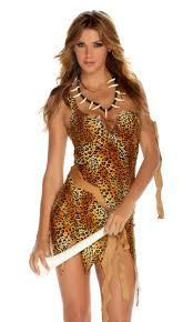forplay survival of the fiercest cavewoman costume by
