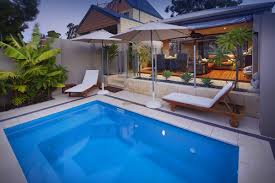 4 2m monaco plunge pool inground fibreglass swimming pool