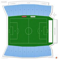 Fc Dallas Field Map by Toyota Stadium Seating Guide Rateyourseats Com